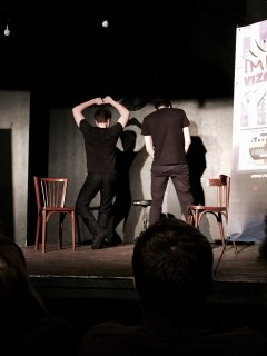 spectacle improvisation Fous allies Strasbourg improvizapping
