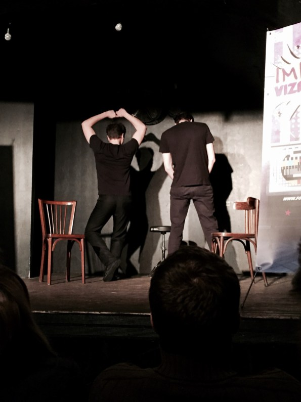 spectacle improvisation Fous allies Strasbourg improvizapping
