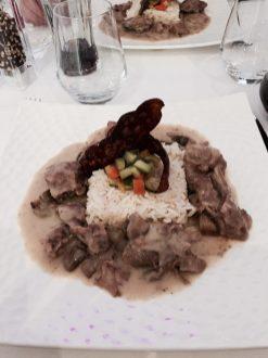 KAT40 restaurant bar strasbourg blanquette veau riz pilaf