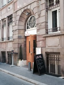 KAT40 restaurant bar strasbourg facade