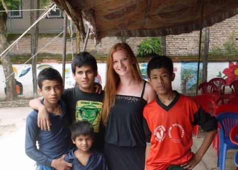 Nepal enfants appel aux dons CPCS bettina
