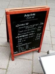Poids Plume restaurant Bistrot Viet Strasbourg menu