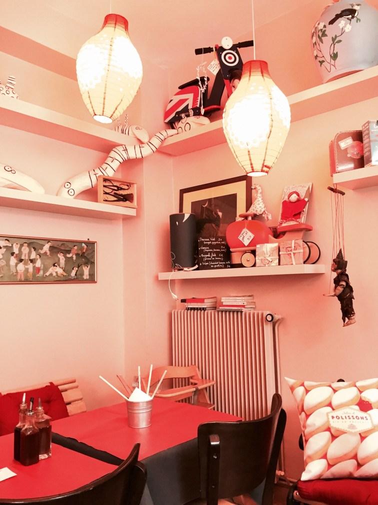Poids Plume restaurant Bistrot Viet Strasbourg salle interieure 2