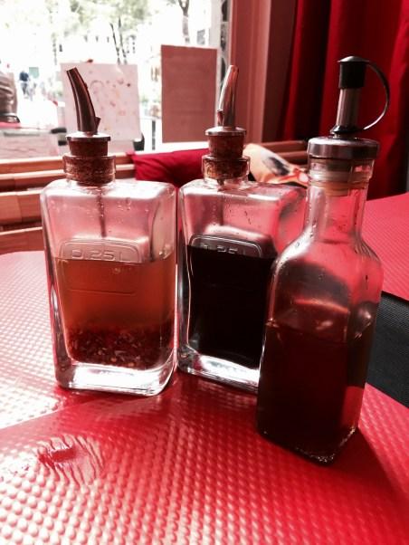 Poids Plume restaurant Bistrot Viet Strasbourg sauces