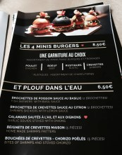 Bons Copains restaurant finger food Strasbourg