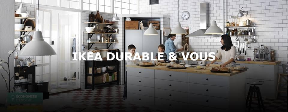 ikea durable et vous prenez des habitudes eco responsables. Black Bedroom Furniture Sets. Home Design Ideas