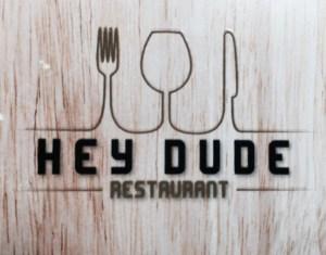 Hey Dude restaurant Strasbourg logo