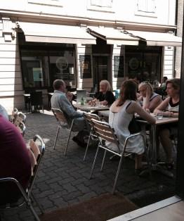Hey Dude restaurant Strasbourg terrasse