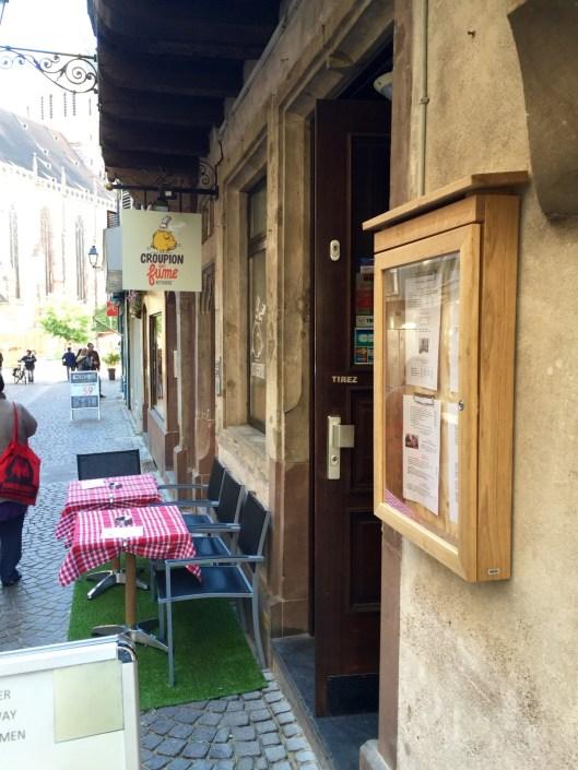 Le croupion qui fume rotisserie Strasbourg burger sandwich tartine