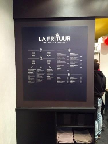 La Frituur friterie belge Strasbourg Grand rue