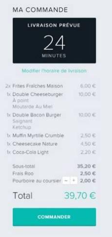 Deliveroo Strasbourg livraison repas coursier velo restaurant