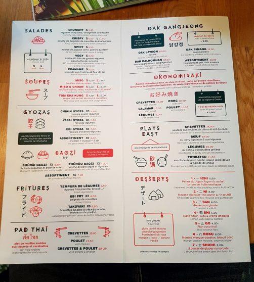 East Canteen cuisine asiatique Strasbourg restaurant place des orphelins