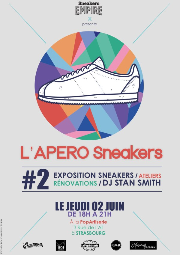 SNEAKERS EMPIRE APERO Popartiserie STRASBOURG 2