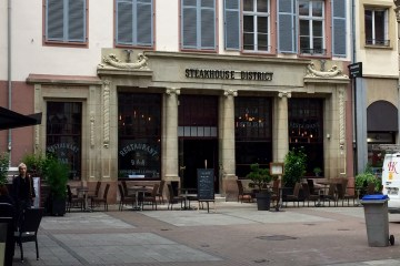 Steakhouse District restaurant Strasbourg viande cuisson braise 1