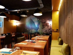 Mandala restaurant Strasbourg salle