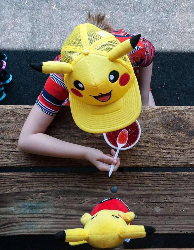 Pokemon Go Strasbourg Alsace Pikachu