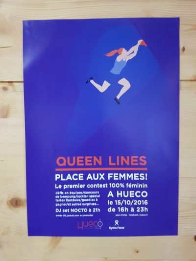 Hueco Strasbourg escalade salle bloc Eckbolsheim queen lines