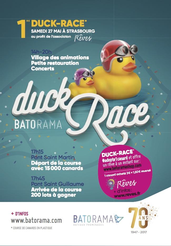 Batorama Duck Race 27 Mai Strasbourg