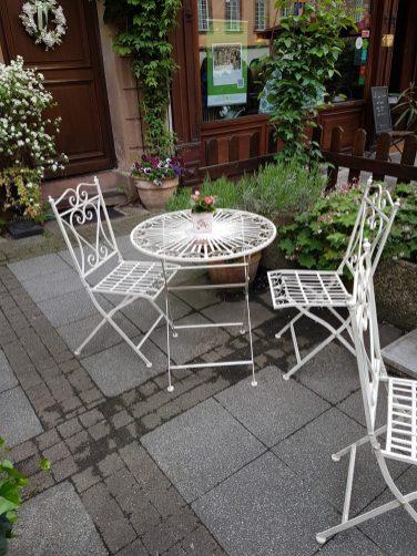 Au Fond Du Jardin Strasbourg Alsace madeleine thé salon petit déjeuner brunch