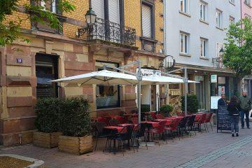 Mamama Bistro Strasbourg restaurant rue sainte hélène buffet