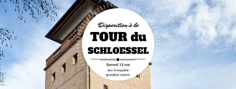 jeu enquête disparition Tour du Schloessel PNU Strasbourg Elsau Koenigshoffen