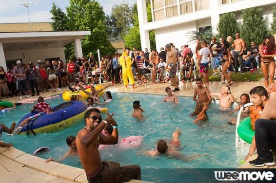 PoolPartyMK pool party Strasbourg