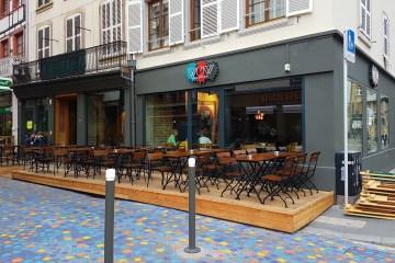 Brasserie WoW rue du jeu des enfants Strasbourg streetart restaurant bar