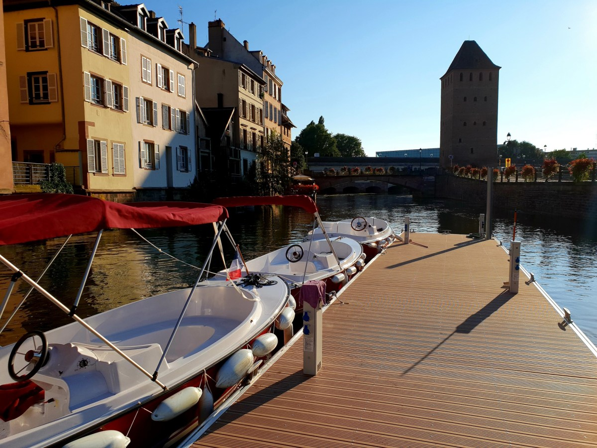 """Kapoué test n°154: Les bateaux sans permis """"Marin d'eau douce"""" à Strasbourg"""