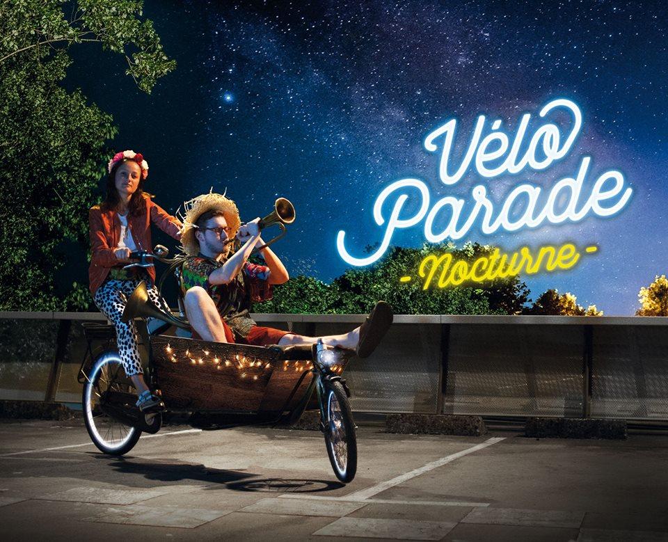 2ème Véloparade Nocturne Vendredi 21 septembre 2018 à Strasbourg !