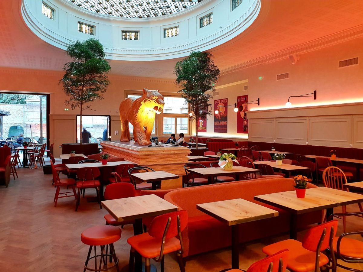 La brasserie LE TIGRE de Kronenbourg rugit dans les rues de Strasbourg !