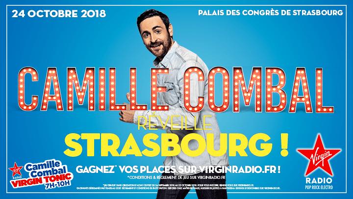 Camille Combal Strasbourg 24 octobre 2018 Virgin Radio Strasbourg PMC
