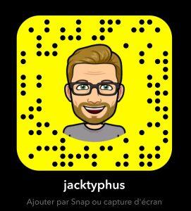 Compte Snapchat de JackTyphus / Blog Kapoué ! (blog lifestyle Strasbourg / Alsace)