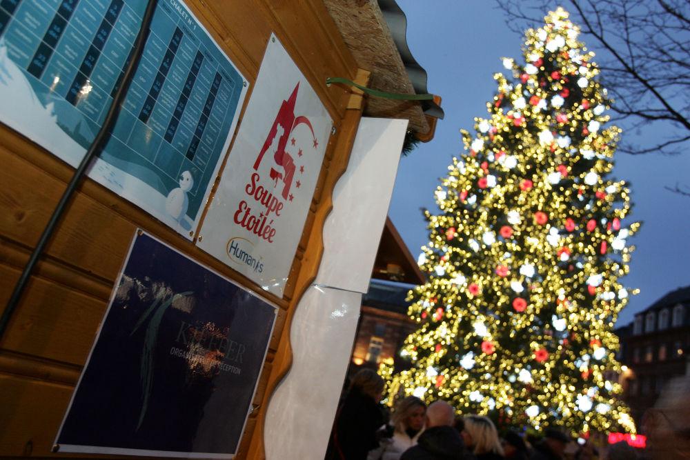 Soupe étoilée du 23 novembre au 24 décembre 2018 Place Kléber à Strasbourg !