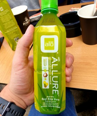 boisson aloe vera green curry Pitaya Strasbourg