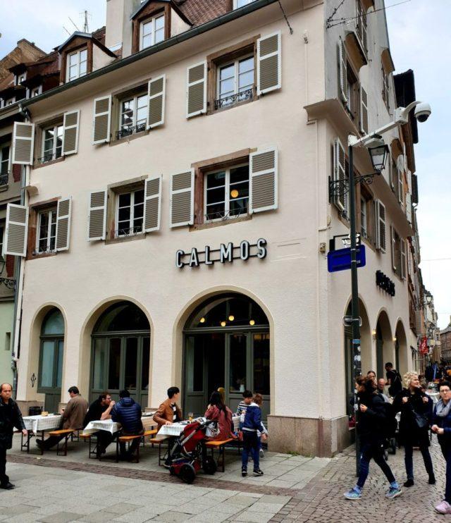 CALMOS restaurant Strasbourg Grand'Rue brasserie