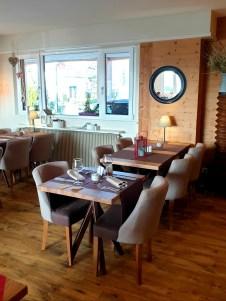 Le Kastelberg hôtel restaurant Andlau Alsace route des vins salle