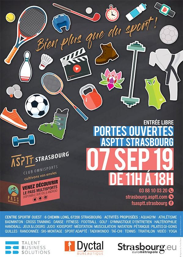 ASPTT Strasbourg Samedi 07 septembre : Portes Ouvertes au CSO de Koenigshoffen