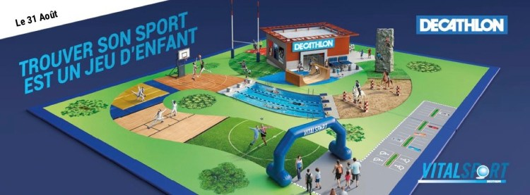 Vitalsport Decathlon Strasbourg place des Halles