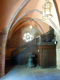 escalier eglise saint-guillaume