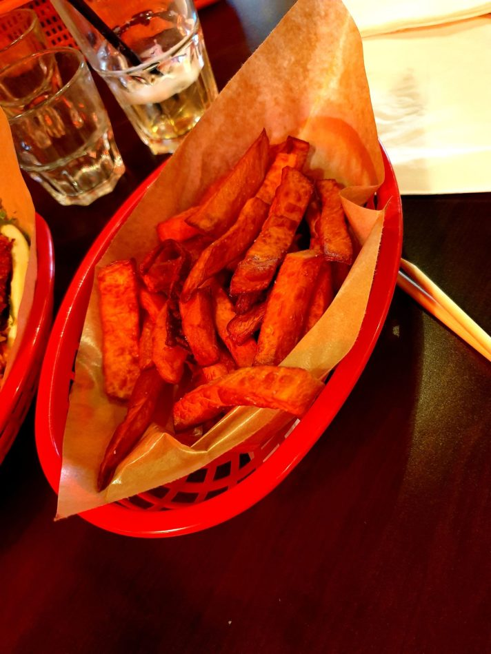 frites de patates douces