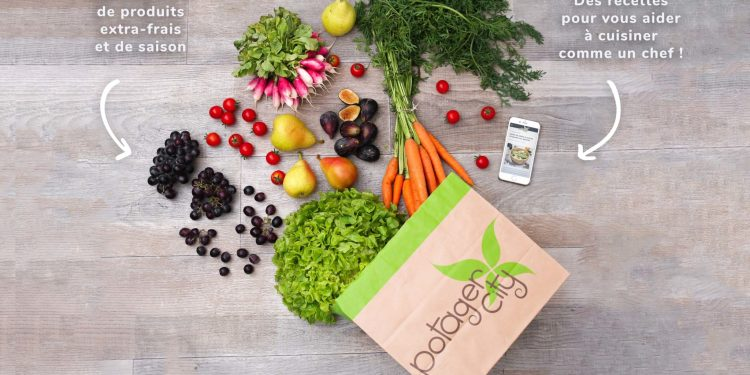 Potager City Strasbourg livraison fruits légumes box