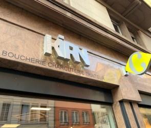 KIRN Strasbourg charcuterie rue du 22 novembre enseigne