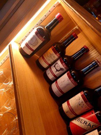 La Vielle Enseigne restaurant alsacien Strasbourg vins