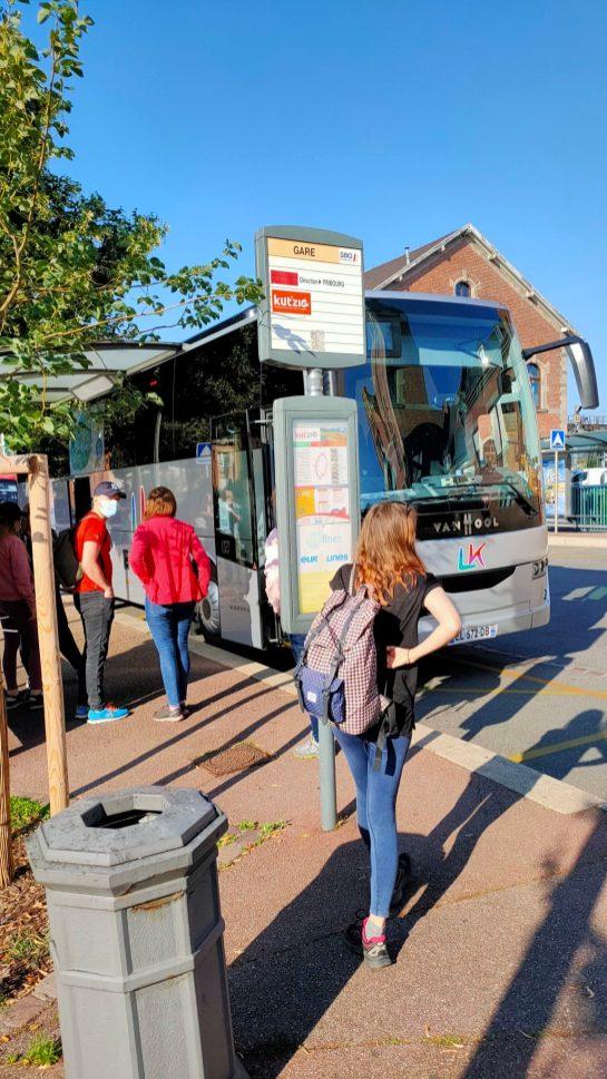 Navette des cretes vosges bus Strasbourg Colmar Munster train LK tours 3