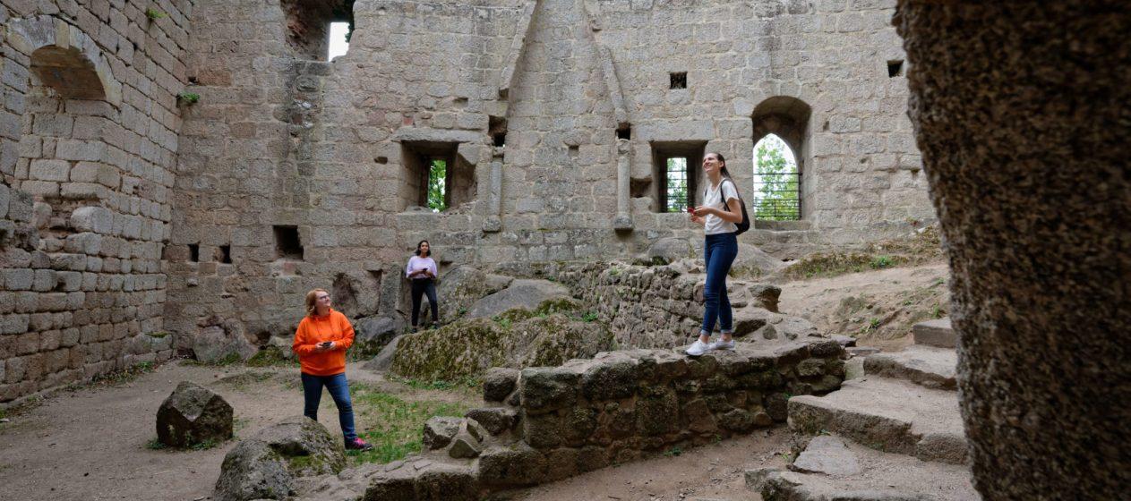 appli Les Portes du temps Alsace château