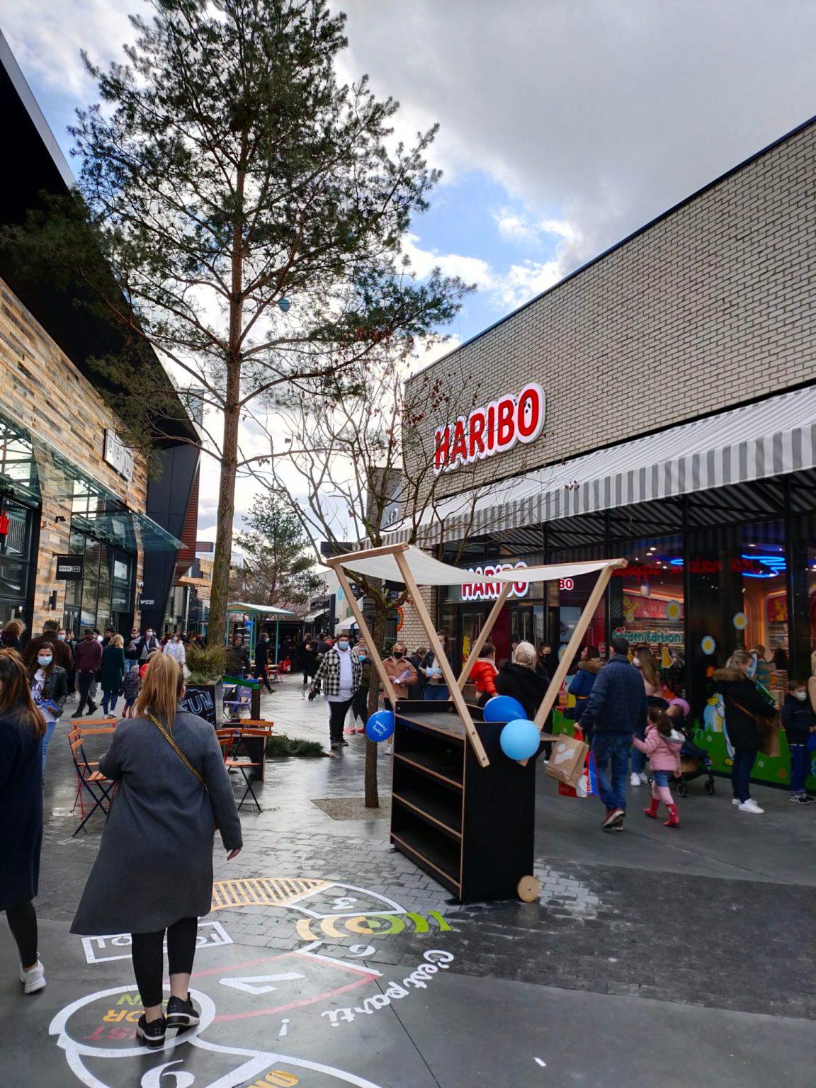 Shopping Promenade Coeur Alsace Vendenheim Reichstett allée centrale