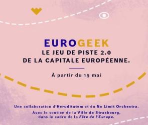 affiche présentation Eurogeek Strasbourg