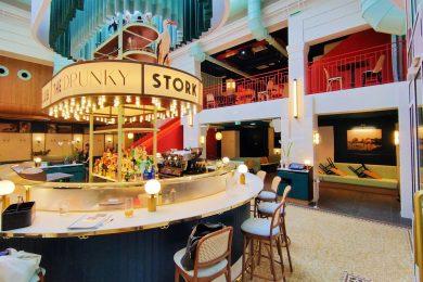 Drunky Stork Social Club Strasbourg bar restaurant brasserie
