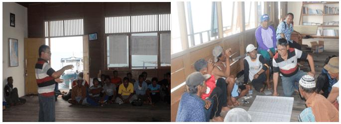 Kegiatan penyiapan masyarakat Kepulauan Seribu