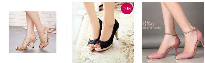 Jual high heels